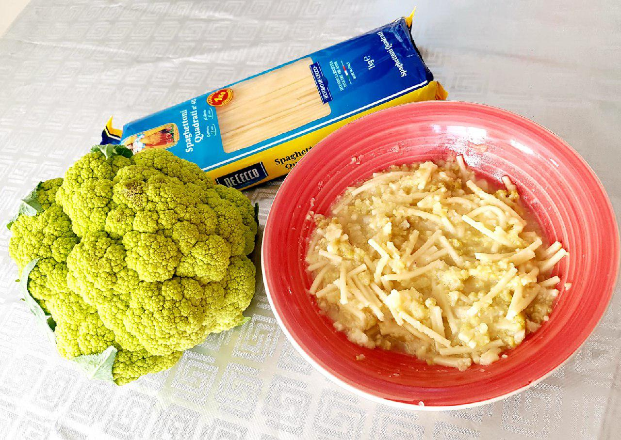 Cauliflower Soup   Minestra di Broccoli